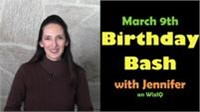 Jennifer's Birthday Bash on March 9, 2015