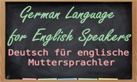 German Language for English Language Speakers