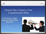 General Tips to Improve Your Public Communication Skills