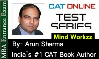 Online Mock CAT-MBA 2015 Exam Test Series from Arun Sharma