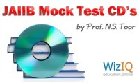 JAIIB Study material and mock test CD's by Prof. N.S. Toor