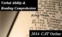 Verbal Ability & Reading Comprehension for CAT 2014