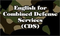 English for Combined Defense Services (CDS) Written Exam