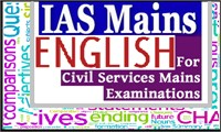 English for UPSC, IAS & Civil Services Exams