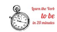 Learn the Verb To Be in 20 Minutes