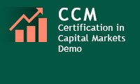 Certification in Capital Market (CCM) - Demo