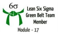 Lean Six Sigma Green Belt Team Member Module - 17 Fault Tree Analysis