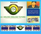 FREE A+ Online English Tutor's DAILY ENGLISH  COURSE- 5 LESSONS