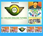 FREE A+ Online English Tutor's KIDS ENGLISH  COURSE -  5 LESSONS