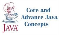 Core and Advance Java Concepts