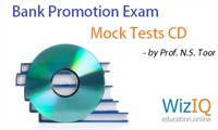 Bank Promotion Exam Mock Tests' CD by Prof. N.S. Toor