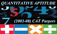 Solved Previous Year CAT Quantitative Aptitude Questions