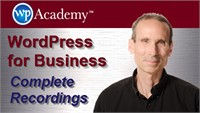 WordPress for Business - Complete Recordings