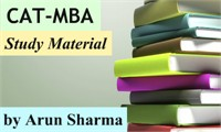 CAT-MBA Study Material by Arun Sharma- MindWorkzz