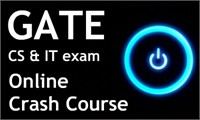 Crash Course for GATE Computer Science & IT Exam