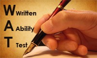 Written Ability Test [WAT] & Essay Writing Online Preparation