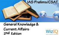 Current Affairs & General Knowledge for UPSC IAS Prelims Exam