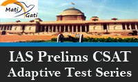 IAS Prelims CSAT Adaptive Test Series