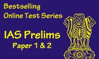 Online Test Series for IAS Prelims Exam - Paper 1 & 2