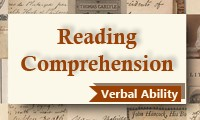 Reading Comprehension (Verbal Ability) Course for CAT 2014