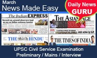 March 2014 Daily News Analysis for UPSC exams