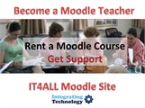 Rent a Moodle Course and Teach Online