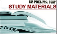 Study Material for IAS Prelims Exam