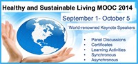 Healthy and Sustainable Living MOOC 2014
