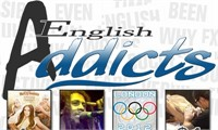 Film & News Advanced English featuring English Addicts.