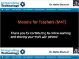 Moodle for Teachers (M4T)