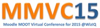 Moodle MOOT for 2015 (MMVC15)