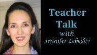Teacher Talk: Erasing Our Doubts and Strengthening Our Skills